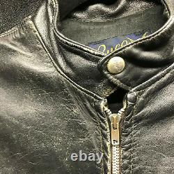 Vintage Buco J100 Cafe Racer Leather Motorcycle jacket rare M