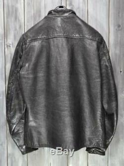 Vintage Buco J-100 MotorCycle Single Leather Jacket Used