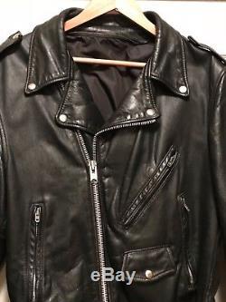 Vintage Leather Motorcycle Biker Jacket size 42, BUCO, Schott, Vanson NR