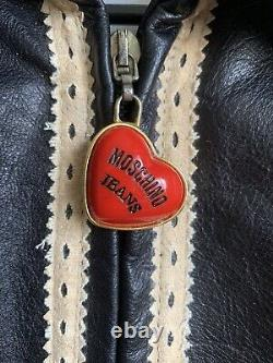 Vintage Moschino Jeans Leather Jacket