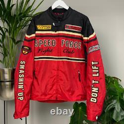 Vintage NASCAR Speed Force Fight Club Racing Jacket Hein Gericke Speedware