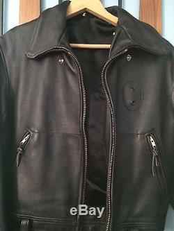 Vintage Police Leather Jacket Excellent++ Condition