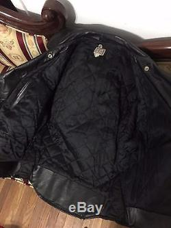 Vintage Rare Beck One Star Motorcycle Leather Jacket 1950's