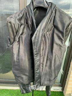 Vintage Schott Perfecto 125 Motorcycle Biker Leather Jacket Size 44