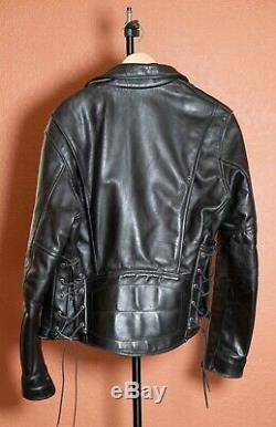 Vintage Vanson Hardcore Highwayman Competition Weight Motorcycle Jacket 42