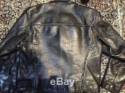 Vintage Vanson Leather Motorcycle Jacket 42