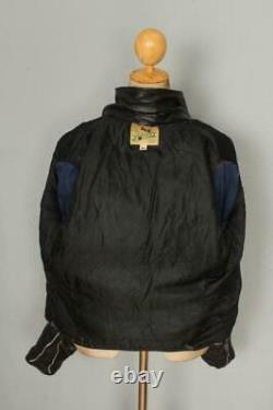 Vtg 1950s GRAIS Steerhide Leather Sports Motorcycle Jacket Size 38/40