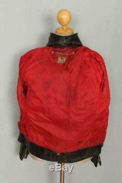 Vtg 1953 INDIAN RANGER Steerhide Leather Motorcycle Biker Jacket Medium