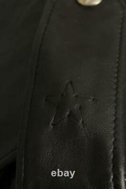 Vtg 70s SCHOTT PERFECTO 613'One Star' Leather Motorcycle Jacket 44/46
