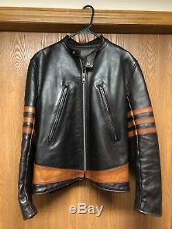 Wolverine Leather Jacket (X-men) by Vanson