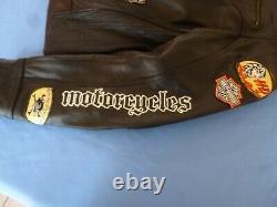 Women's Harley Davidson JOYRIDE 3-in-1 Leather Jacket + Hoodie Sz XL-97071-11VW