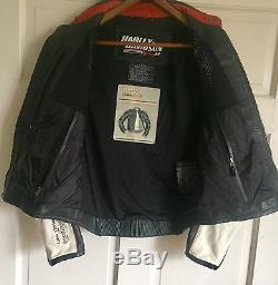 Women's Leather Screaming Eagle Harley Davidson Racing-Riding Jacket