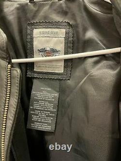 Women's Real Harley Davidson Leather Riding Gear Jacket XL
