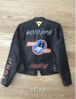 Yohji Yamamoto Dainese Racer Jacket